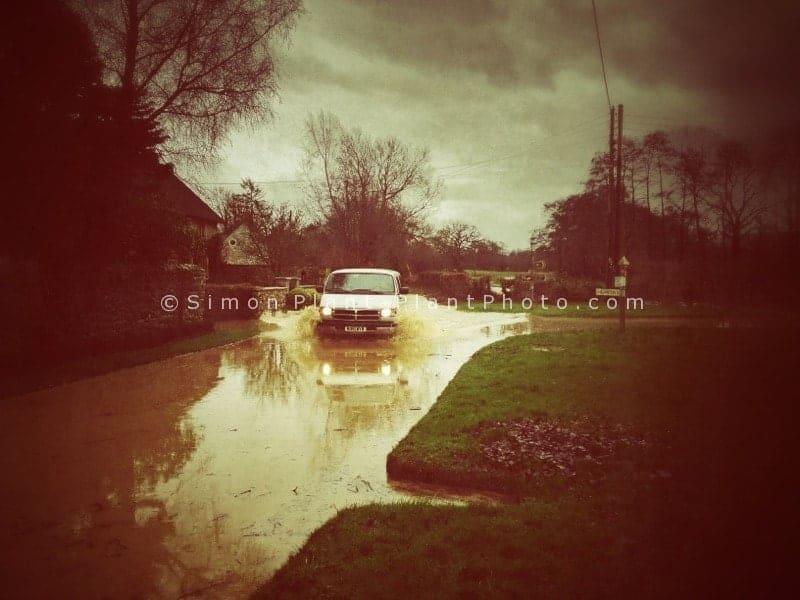 Floods-around-dowlish-somerset