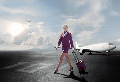 Lifestyle-photo-airplane-female-cabin-crew