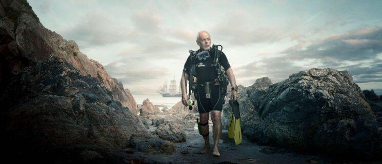 Advanced-photo-retouching-diver-composite