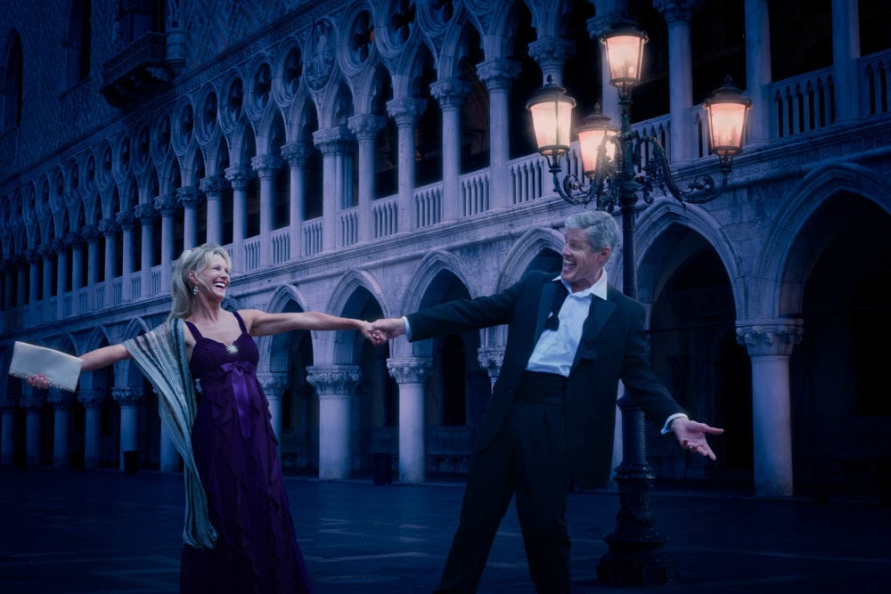 Commercial-photographer-shoot-mature-couple-dancing-st-marks-square-venice