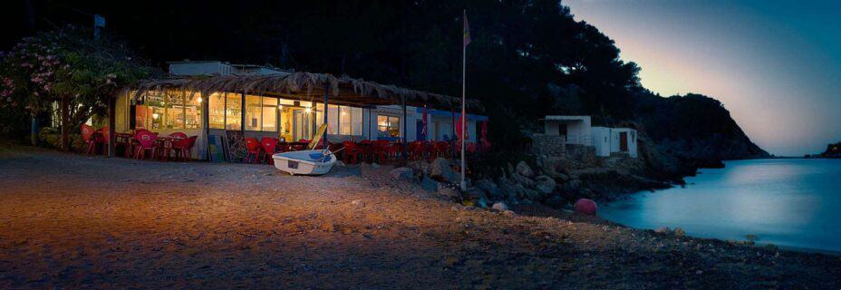 Ibiza-beach-cafe-at-dusk