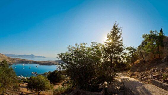 Tourism-photography-lyndos-acropolis-view-rhodes
