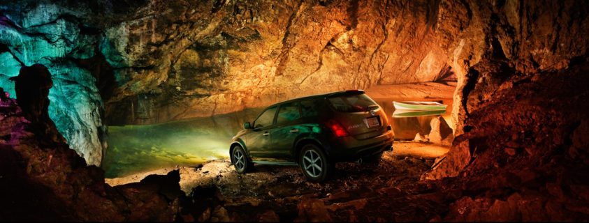 Nissan-car-photography-cgi-post-production-wookey-hole-cave