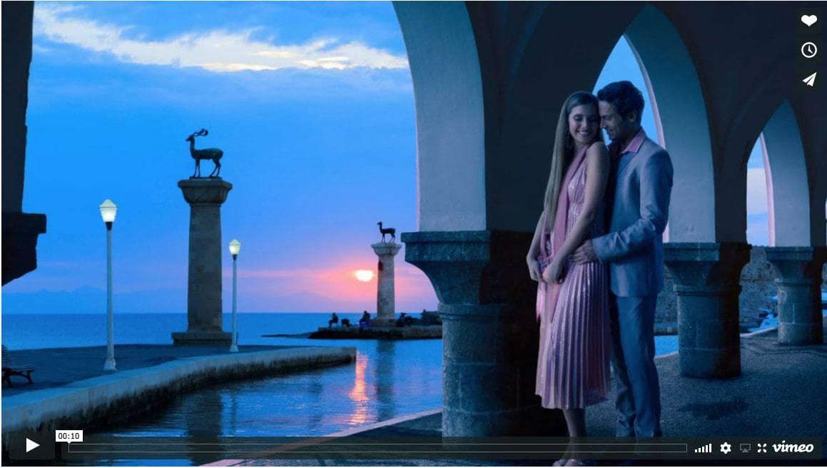 Parallax-video-animation-mandraki-harbour-dawn