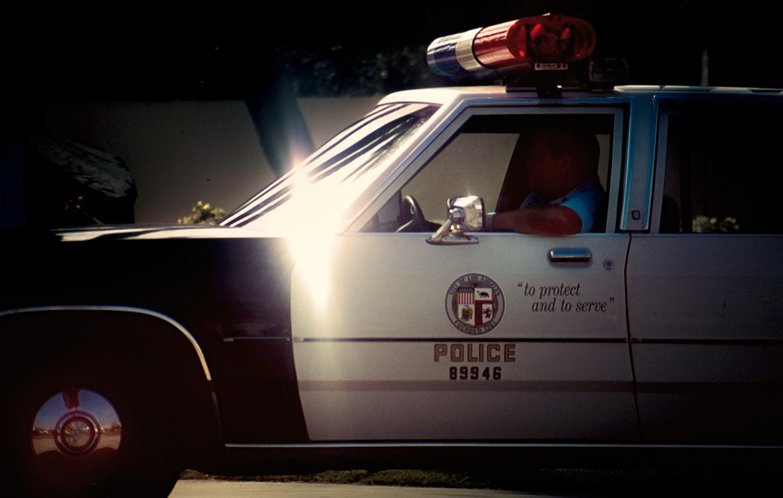 Venice-beach-police-car-1992-travel-photography-portfolio