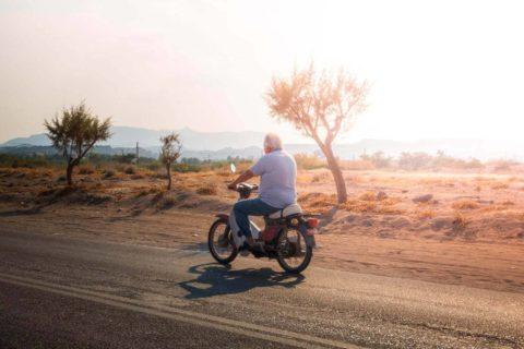 Honda-90-coast-road-rhodes