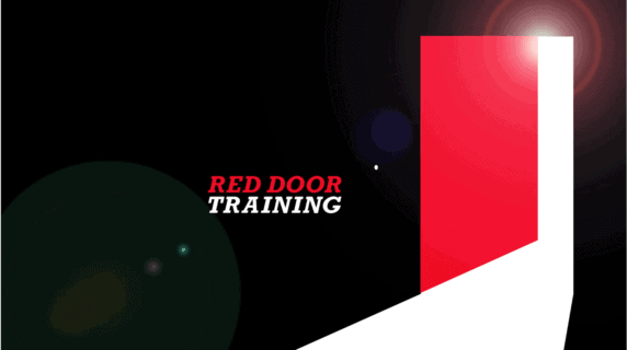 Red-door-training-video-production-graphic