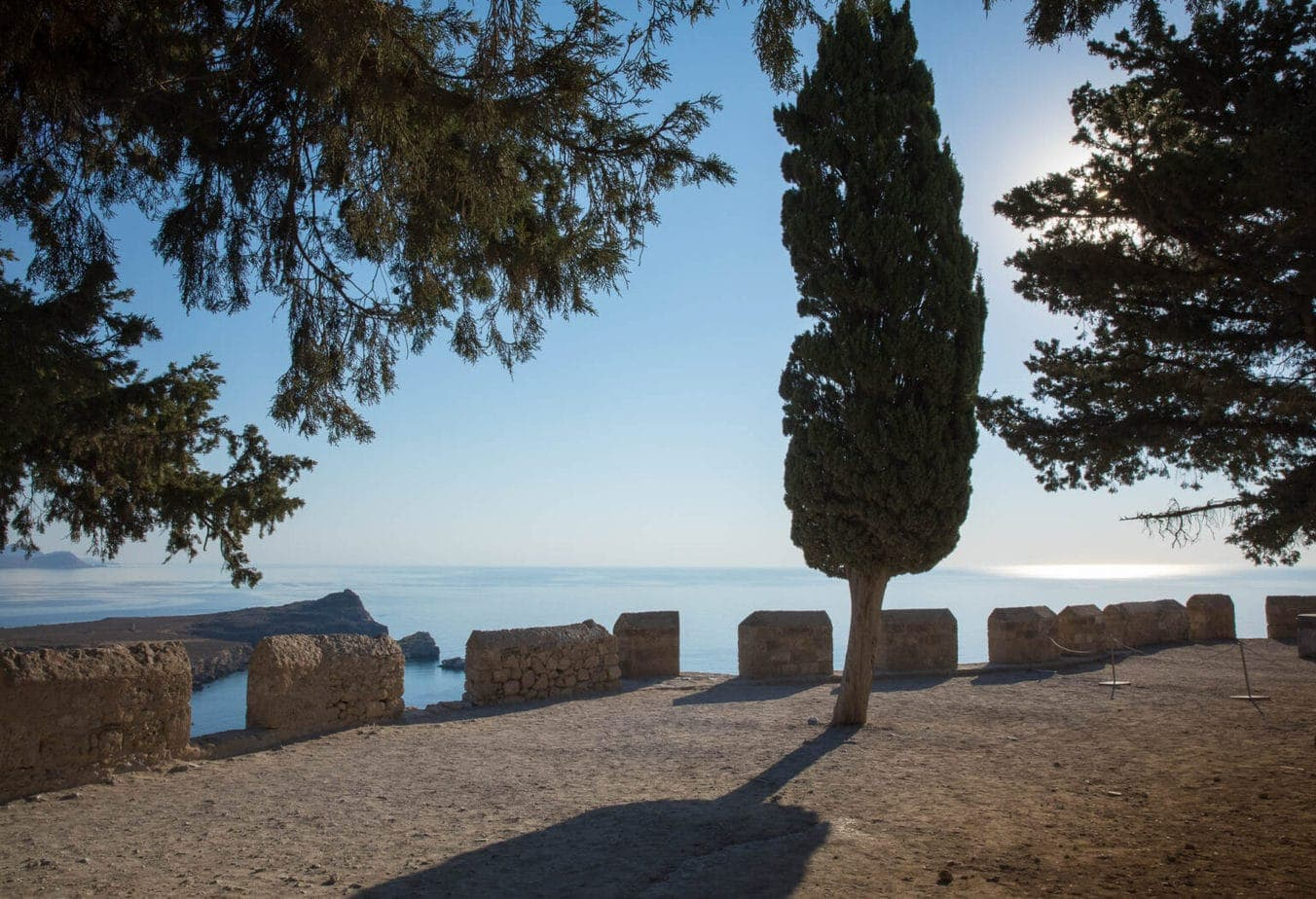 Before-image-photo-retouching-of-tree-lyndos-greece