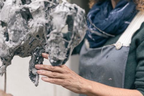 Melanie-deegan-sculpter-detail-langport